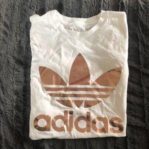 adidas Tops - Adidas Rose Gold T-Shirt